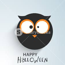banner or background for halloween party night sticker royalty