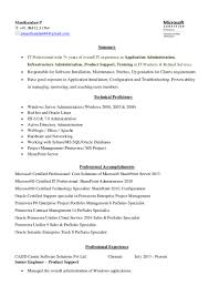 Best Administrative Resume Examples by Senior System Administrator Resume Sample Resume For Your Job