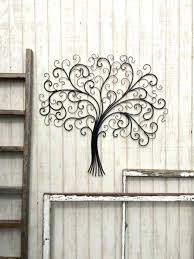 Metal Tree Wall Decor Cozy Acrylic Crystal Antiqued Metal Tree Wall Decor Art Diy Blog