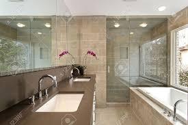 Modern Master Bathroom Ideas by Dazzling Modern Master Shower Design Impressive Modern Master
