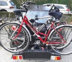 porta bici da auto portabici da gancio traino porta 2 3 bici biciclette antifurto