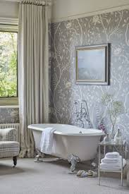 edwardian bathroom ideas bathroom wallpaper ideas for bathroom 37 wallpaper ideas for