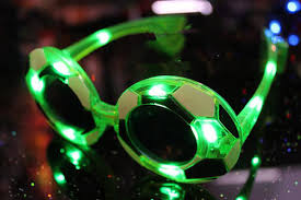 gift ideas for soccer fans novelty 2014 brazilian football fans small gifts flashing glasses