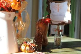 Fall Kitchen Decor - fall budget decorating in the kitchen debbiedoos