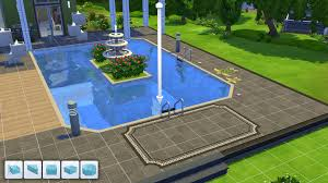 Backyard Design Tools The Sims 4 Pools And Swimwear A Brief Tour U2013 Simcitizens