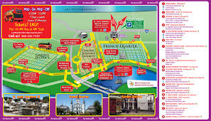 New Orleans Street Map by New Orleans Vacation Deals September 2015