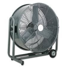 large floor fan industrial canarm hvr round portable drum fans