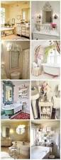 Shabby Chic Bathroom by English Cottage Charm Lace Curtain English Rose Rustic Picture