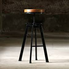 Vintage Industrial Bar Stool Scandinavian Retro Vintage Industrial Design Wrought Iron Dining