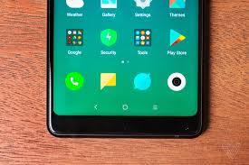 xiaomi u0027s mi mix 2 evolves full screen smartphone verge