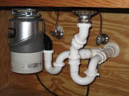 Install Disposal Kitchen Sink Intelligent Sink Drain Scheme Image Of Properly Installed