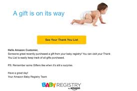 baby gift registry list don t worry that baby registry email was just a glitch