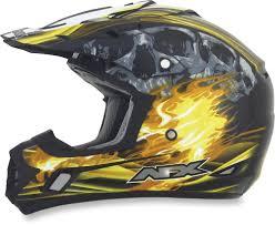 black motocross helmets 94 95 afx mens fx 17 inferno helmet 2014 196085