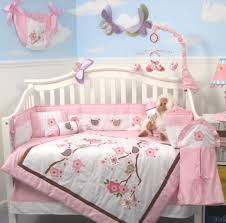 Migi Blossom Crib Bedding Bedding Cribs Boho Neutral Woodland Knitted Navy Blue Oval Cribs