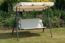 Outdoor Swing With Canopy Garden Swings The Enchanting Element In Your Backyard