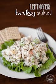 leftover turkey salad self proclaimed foodie
