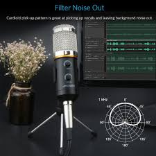 Desk Mic For Gaming by Buy Archeer Professional Studio Broadcasting Recording Condenser