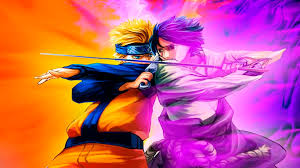 Vs Pink Wallpaper by Naruto Vs Sasuke Hd Wallpaper Wallpapersafari