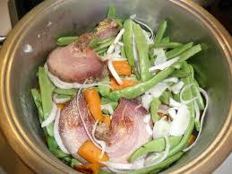 cuisiner les haricots plats haricots plats façon paysanne le carnet de recettes de mamminic