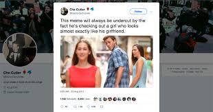 Girlfriend Meme Girl - viral meme girlfriend vs other girl twist
