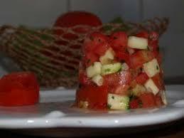 cuisiner des courgettes light tartare de tomate et courgettes light recette ptitchef