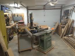 one car garage workshop shop tour my messy one car garage woodshop album on imgur