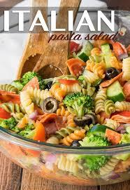 pasta slad classic italian pasta salad i wash you dry