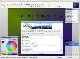 paint net on ubuntu linux 9 10 at compdigitec labs