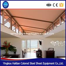 holiday house design cheap steel frame villa resort living prefab