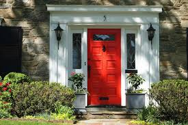 door color paint designs frosted in designs red front doors with