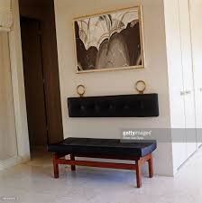 Pottery Barn Shoe Bench Furniture Modern Foyer Bench With Wall Mount Backrest For Home