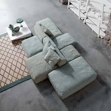 grey modular sofa by paola navone loving this comfy modern basic