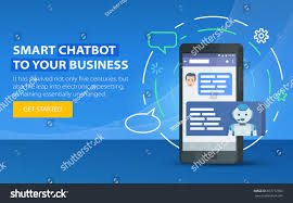 Conceptmodern Chatbot Business Concept Modern Banner Site Stock Vector 657712300