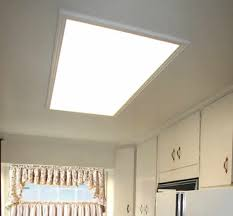 Ceiling Fluorescent Lights Update Recessed Light Fixtures With Recessed Can Lights