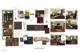 Interior Design Material Board by L A Muse Co 3d Model Concepts