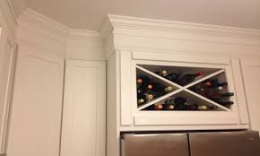 Kitchen Cabinet Crown Moulding Stacked Moulding Country Kitchens With White Cabinets White