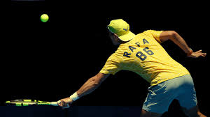 australian open r1 when does rafael nadal play against fernando