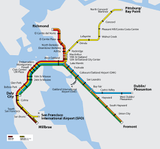 Bart San Francisco Map Bart System Map Official Bart Map Www Bart Gov Stations I U2026 Flickr