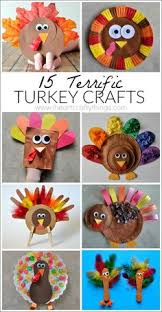 top 15 turkey crafts to do with your turkey craft and app