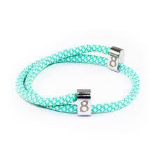 bracelet tiffany silver images St8te adjustable tiffany green white men women 39 s rope bracelet jpg