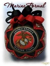 united states marine corp handmade ornament by