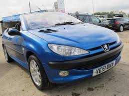 peugeot 206 convertible used peugeot 206 s 2 doors cars for sale motors co uk