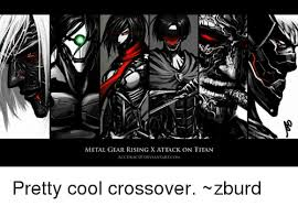Metal Gear Rising Memes - metal gear rising x attack on titan accuracy0devlantart com pretty