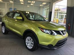 nitro lime new color on the 2017 nissan rogue sport what do you