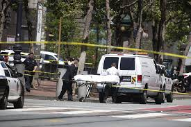 sf officer shoots kills suspect in market street stabbing sfgate