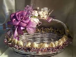 Wedding Gift Decoration 35 Best Decorative Baskets Images On Pinterest Trousseau