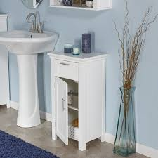 amazon com riverridge home somerset 1 door floor cabinet white