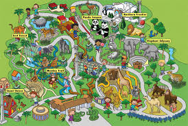 chicago zoo map park clipart zoo map pencil and in color park clipart zoo map
