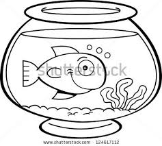 fish tank clipart fish swimming pencil and in color fish tank