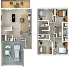 floor plan with perspective house 100 house design plans 3d 4 bedrooms best 25 3 bedroom